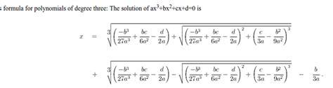 gerolamo cardano formula dakota s math blog
