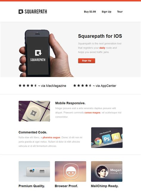 20 professional premium email templates