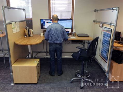 optimal standing desk height adjustable height desks for the ideal workspace