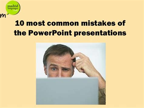 Financing 10 Mistakes That Most Make by 10 Most Common Ppt Mistakes Students Make
