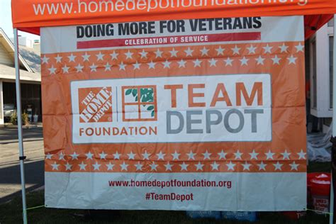 the home depot celebration of service home base