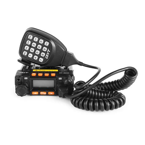 Rik Mini Dual Band qyt kt 8900 mini dual band car radio 136 174 400 480mhz 25w 20w transceiver ebay