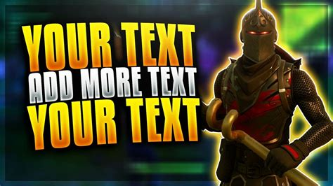 fortnite thumbnail template and affordable fortnite thumbnail template thats