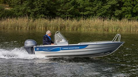 sportsman boats reviews linder sportsman 445 max review boats