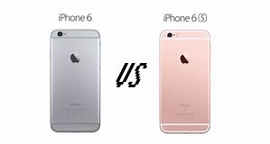 Image result for difference between 6 and 6s