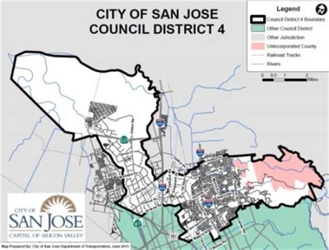 san jose precinct map a crowded field to fill sj city council district 4 the