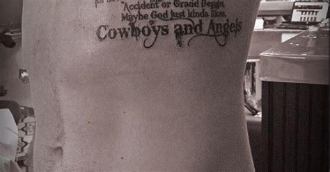 bleeding cowboy tattoo cowboys and bleeding cowboy font 2nd verse