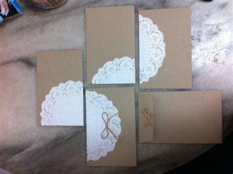 Diy Doily Envelopes Weddingbee  Ee  Photo Ee   Gallery
