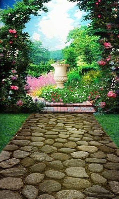 Wedding Background Garden by Details About Flower Garden Vinyl Photography 1 5x2 1m
