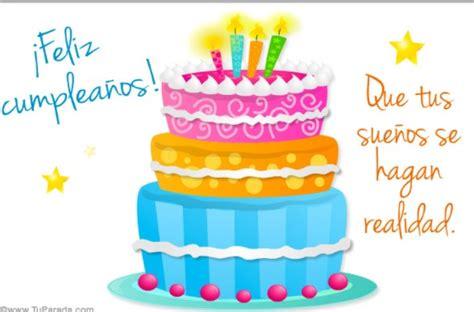 imagenes animadas feliz cumpleaños tarjetas con saludos animados de cumplea 241 os tarjetas de