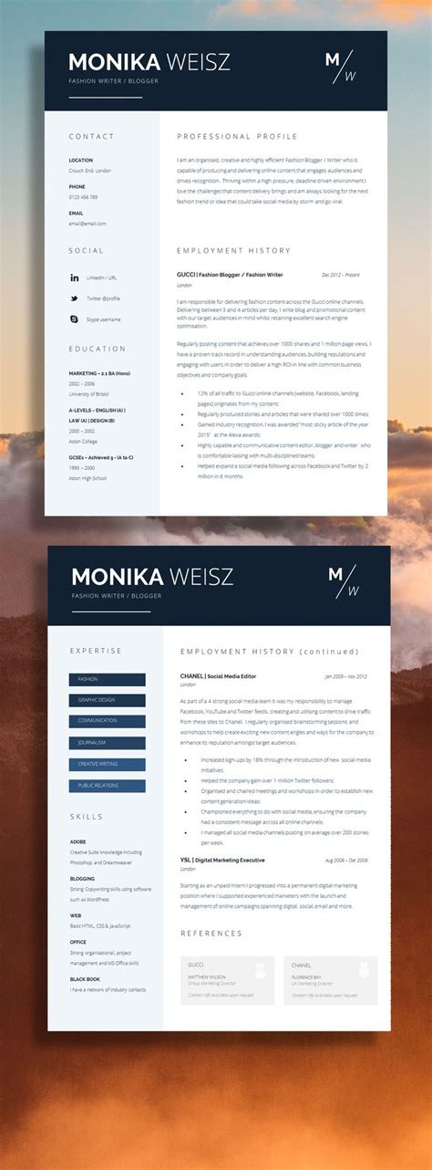 Resume Template Qut by 1000 Ideas About Resume Templates On Resume