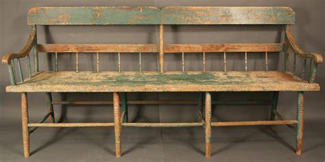 antique windsor bench wythe co virginia meetinghouse windsor bench