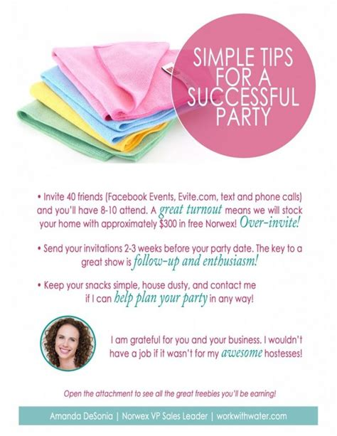 8 Tips On Being A Stellar Hostess by 110 Best Norwex Images On Norwex Products