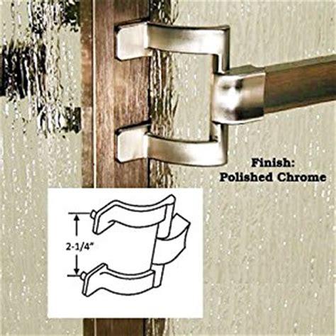 Shower Door Towel Bar Bracket Chrome Framed Sliding Shower Door Towel Bar And Brackets 30 Quot X 2 1 4 Quot Holes
