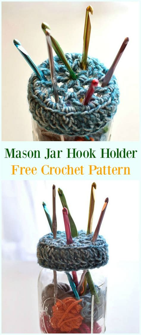 crochet hook case holders  patterns