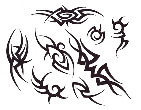 Tattoos Designs Aynise Benne Tribal Flash