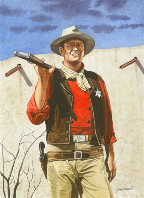 film cowboy rio bravo 1000 images about western movie art on pinterest john