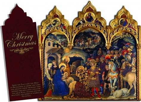 merry christmas tri fold christmas cards catholic   max  catholic store