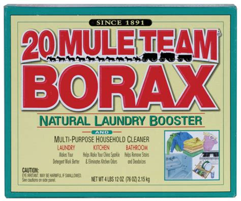Borax To Detox Fluoride by 15 Diy Uses For Borax The Miracle Mineral Detox