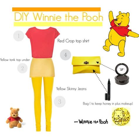 winnie the pooh costume diy winnieh the pooh costume ideas