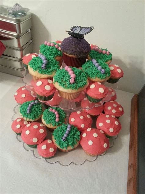cupcake themed baby shower decorations enchanted forest themed cupcakes baby shower planning