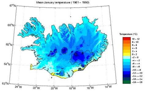 reykjavik climate climate in iceland