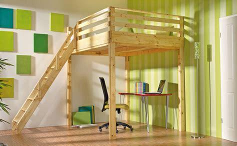 bett hoch bauen hochbett selber bauen anleitung hornbach