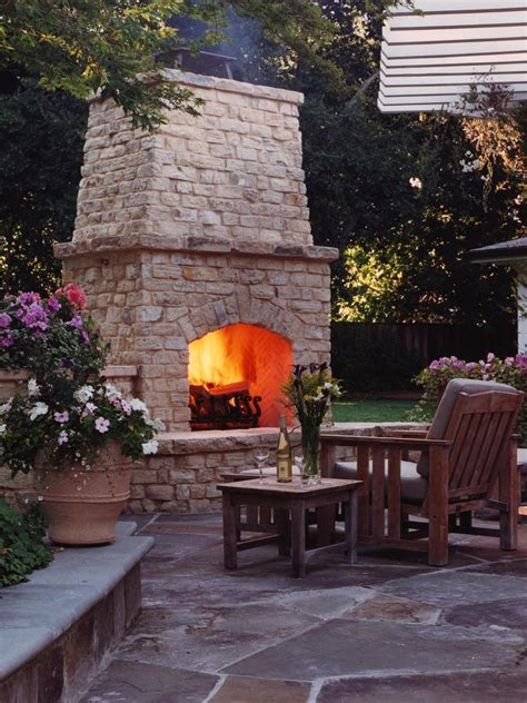 Outside Fireplace by 10 Beautiful Pictures Of Outdoor Fireplaces And Pits