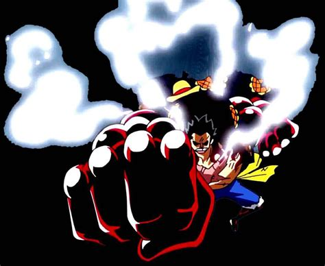 Kaos Anime Monkeydluffy Gear 4 One luffy gear 4 render png one by joyboytv on deviantart