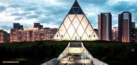 astana illuminati the new world order has created its capital city