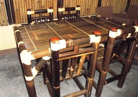 Kursi Bambu Wulung menangguk untung dari bambu wulung oleh bambang setyawan
