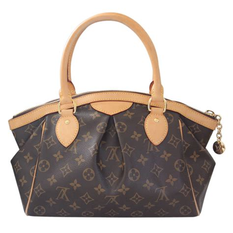 louis vuitton tivoli pm monogram handbag  dust bag