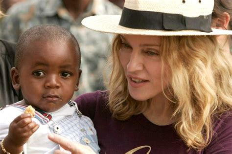 Adopt An Orphan Just Like Madonna by Of Madonna S Adopted Was In The Room When