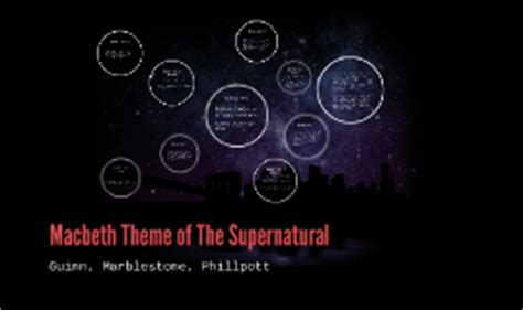 macbeth themes prezi macbeth theme of the supernatural by braeden phillpott on