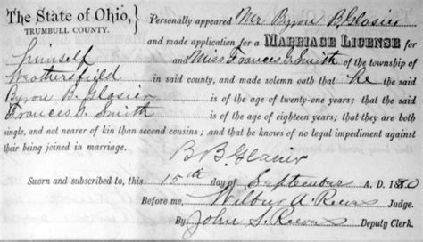 Smith County Marriage Records The Bullitt County History Museum Memories