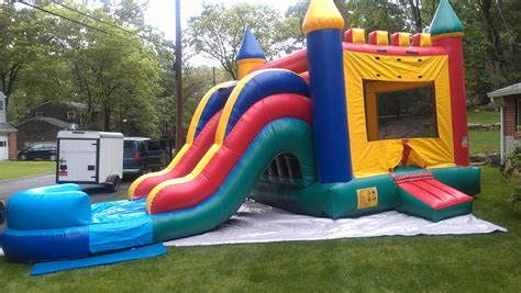 bouncy house rental bouncy house with slide rental in new rochelle ny