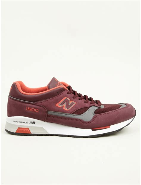 burgundy sneakers mens new balance mens made in sneakers in for