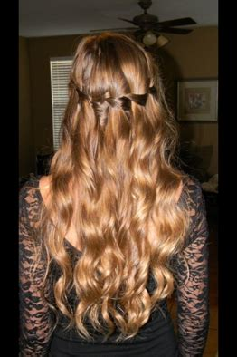 eighth grade prom hair styles paige s hairstyle for 8th grade grad dance so beautiful