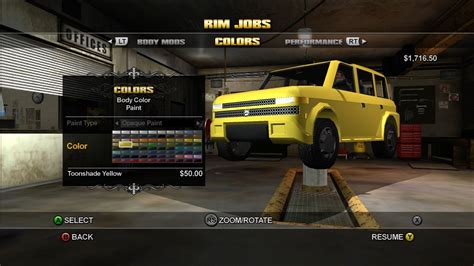 best car mod game xbox saints row screenshots for xbox 360 mobygames
