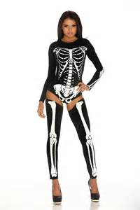 Skeleton Costumes Skeleton Print Bodysuit 56 99 The Costume Land