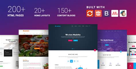 Materialize Material Design Based Multipurpose Html Template By Trendytheme Material Design Website Template