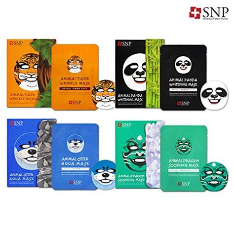 us nps snp snpp02 otter aqua character printed mask 10 count 11street malaysia masques