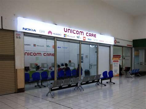unicom care itc cempaka mas jakarta pusat service center id