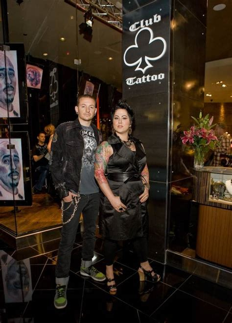 club tattoo las vegas exclusive chester bennington opens club at planet