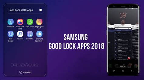 P Samsung Android Samsung Lock 2018 Apps Apk Try Android P 9 0 Features Droidviews