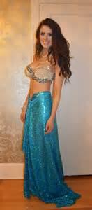 Handmade Mermaid Costume - the pollyanna project diy mermaid costume
