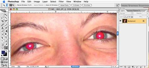 photoshop cs5 red eye tool tutorial how to remove red eye with adobe photoshop tutorial