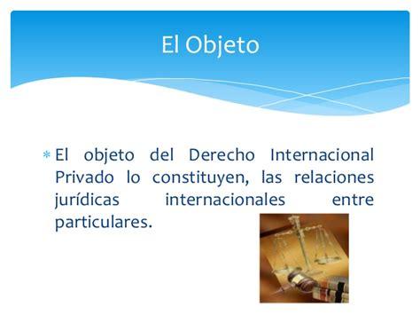 derecho internacional privado fuentes del derecho internacional privado