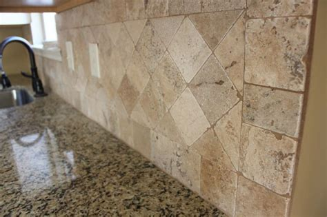 tumbled marble backsplash pictures and design ideas tumbled marble backsplash work ideas pinterest