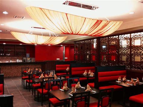 red restaurant joy feast encino red black restaurant interior design